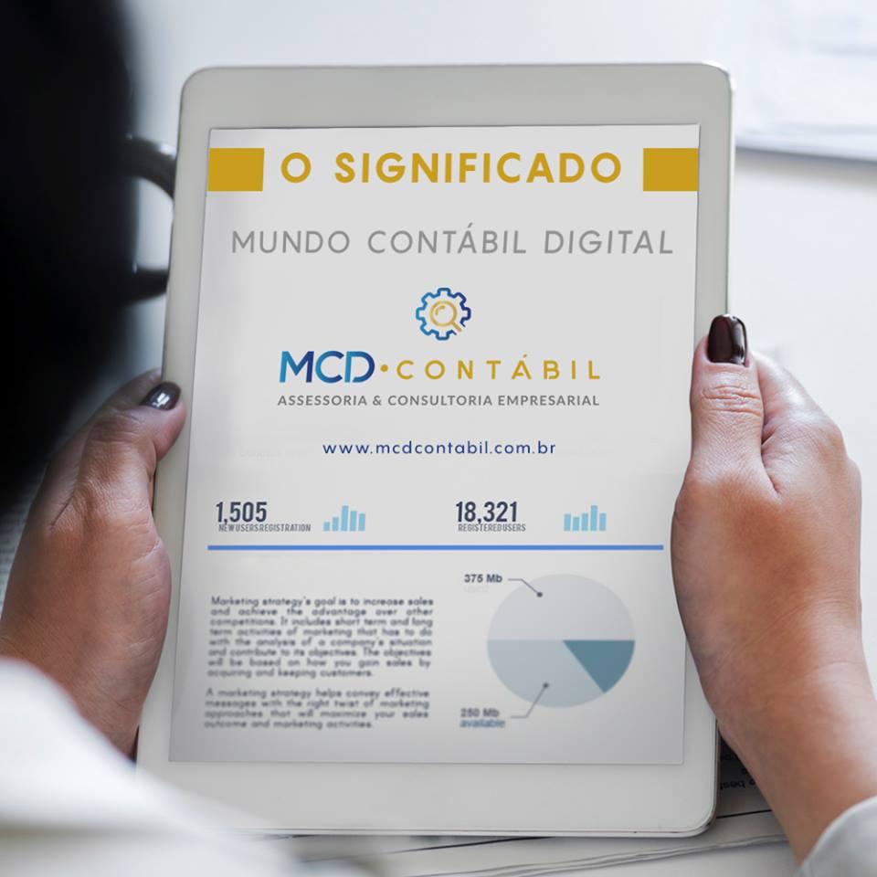 ADMIRÁVEL MUNDO NOVO DA CONTABILIDADE DIGITAL#MCD