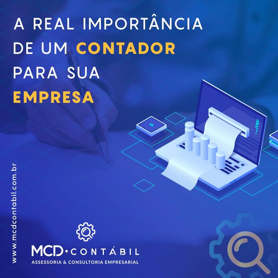 #MCDCONTABIL – A REAL IMPORTÂNCIA DE UM CONTADOR PARA A SUA EMPRESA