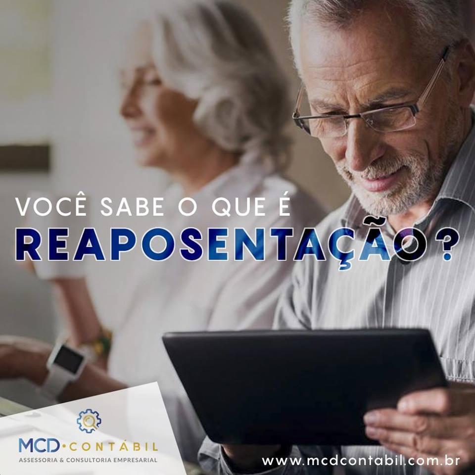 #MCD Contábil – Você Sabe O Que é Reaposentação?