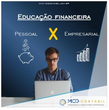 Educação Financeira Pessoal X Empresarial