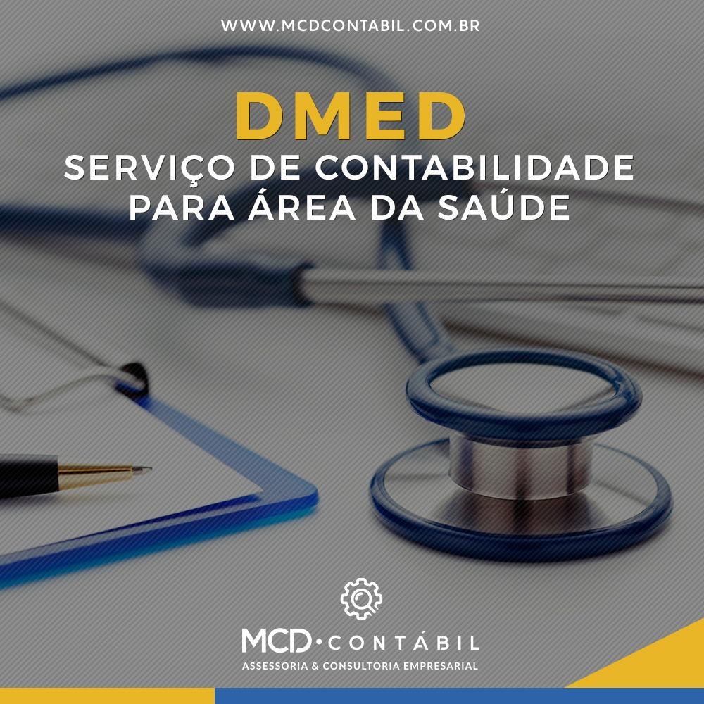 DMED – Serviços De Contabilidade Para área De Saúde